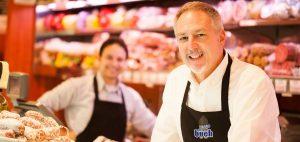 Bio Fleisch- und Wurst an der Bedienungstheke