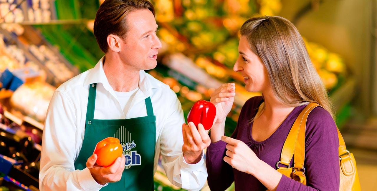 Wir bedienen und beraten Sie gerne über frische Bio-Lebensmittel und Regionale Produkte